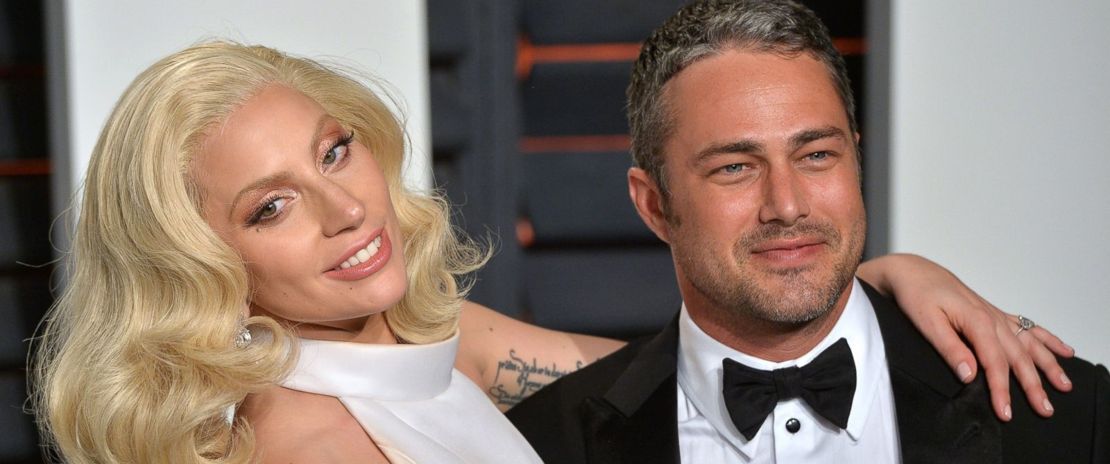 PHOTO: Lady Gaga and Taylor Kinney attend the 2016 Vanity Fair Oscar Party at Wallis Annenberg Center for the Performing Arts on Feb. 28, 2016 in Beverly Hills, Calif.