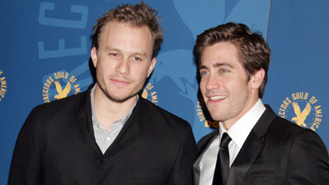 PHOTO: Heath Ledger and Jake Gyllenhaal at the 58th Annual Directors Guild of America Awards, Jan. 28, 2006.