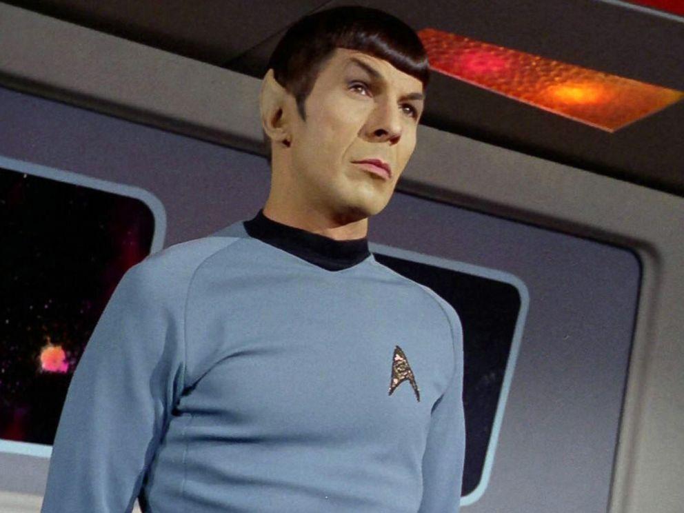 PHOTO: Leonard Nimoy as Mr. Spock in the Star Trek episode, Spocks Brain which aired on September 20, 1968.