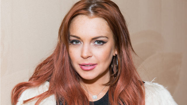 PHOTO: Actress Lindsay Lohan attends Lonneke Engel And Valentina Zelyaeva Organice Your Life Annual Holiday Party at Time Warner Building, Dec. 14, 2012 in New York City.