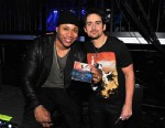 PHOTO: LL Cool J and Brad Paisley backstage during the 48th Annual Academy Of Country Music Awards, April 7, 2013, in Las Vegas, Nevada.