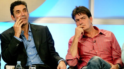 gty lorre sheen tk 111213 wblog Chuck Lorre Offered to Quit Two and a Half Men for Charlie Sheen