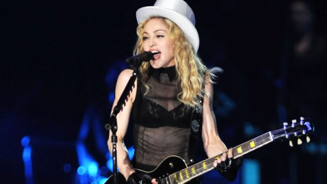gty madonna performing nt 120113 wblog The Super Bowl: Top 5 Memorable Halftime Shows