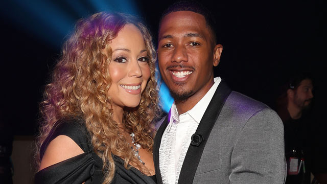 PHOTO: Singer Mariah Carey and TeenNick Chairman and HALO Awards host Nick Cannon attend Nickelodeon's 2012 TeenNick HALO Awards at Hollywood Palladium, Nov. 17, 2012 in Hollywood, Calif.
