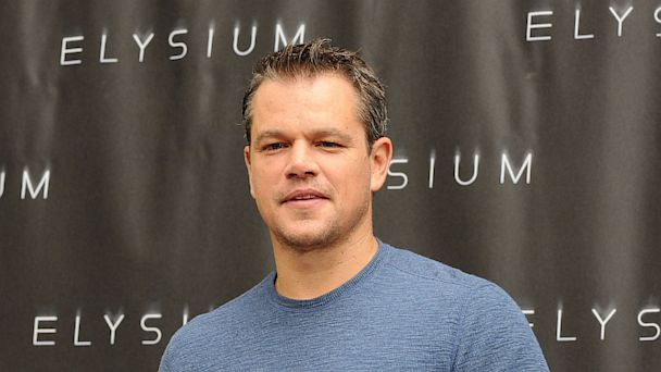"PHOTO: Matt Damon attends the ""Elysium"" photo call at Four Seasons Hotel Los Angeles at Beverly Hills on Aug. 2, 2013 in Beverly Hills, Calif."