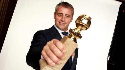 gty matt leblanc golden globes thg 120117 wblog Matt LeBlanc on Bizarre Golden Globes Win, No Friends Movie