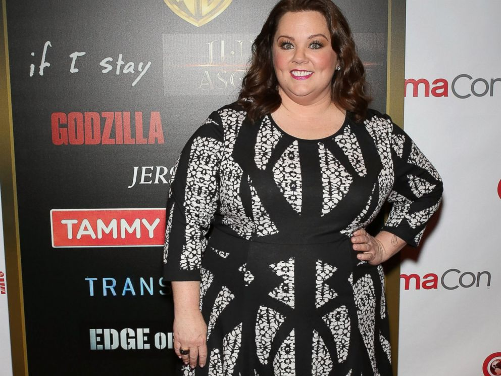 PHOTO: Actress Melissa McCarthy arrives at The Colosseum at Caesars Palace on March 27, 2014 in Las Vegas, Nev.