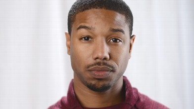 PHOTO: Michael B. Jordan poses for a portrait at the photo booth for MSN Wonderwall at ChefDance on Jan. 20, 2013 in Park City, Utah.