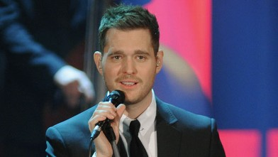 PHOTO: Michael Buble performs at 'Che Tempo Che Fa' Italian TV Show on November 26, 2012 in Milan.