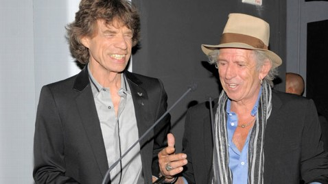 gty mick jagger keith richards jef 120712 wblog Rolling Stones Celebrate 50th Anniversary