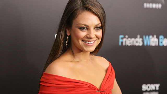 PHOTO: Mila Kunis attends Marine Corps Ball