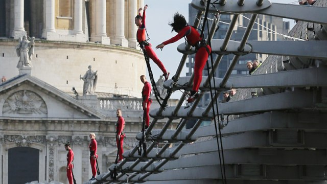 Streb Company Pre-Olympic Performance Art