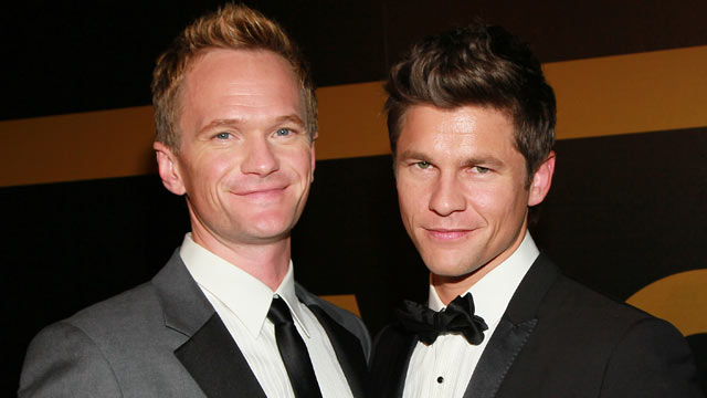PHOTO: Neil Patrick Harris and David Burtka attend the AMC after party for the 62nd Annual EMMY Awards at Soho House, August 29, 2010 in West Hollywood, California.