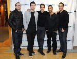 PHOTO: Members of New Kids On The Block, from left, Donnie Wahlberg, Jordan Knight, Joey McIntyre, Danny Wood and Jonathan Knight visit SiriusXM studios, April 3, 2013, in New York.