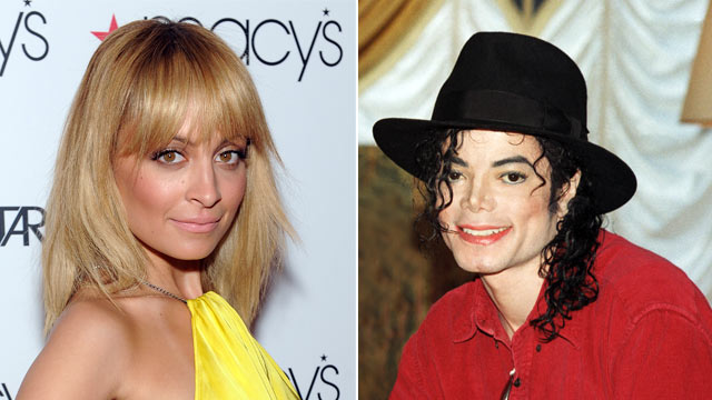 PHOTO: Nicole Richie attends Macy's Celebrates NBC's New Primetime Series, Fashion Star, at Macy's Herald Square on March 13, 2012 in New York. Michael Jackson poses at a press conference before a date on his HIStory world tour in 1996.
