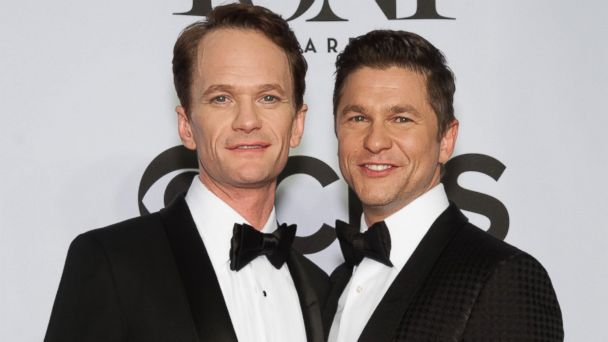 PHOTO: Neil Patrick Harris and David Burtka attend the American Theatre Wings 68th Annual Tony Awards at Radio City Music Hall on June 8, 2014 in New York City.