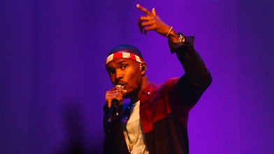 PHOTO: Singer Frank Ocean performs at Terminal 5 on July 26, 2012 in New York City.