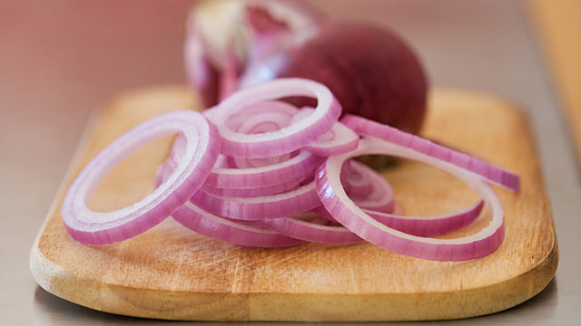 PHOTO: Sara Moulton offers her tips on how to avoid cooking with onions, which are shown.