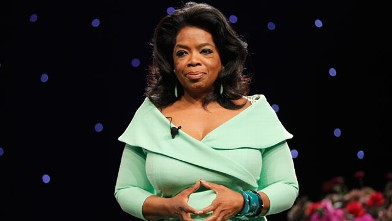 PHOTO: Oprah Winfrey speaks onstage during O You! presented by O, The Oprah Magazine, held at Los Angeles Convention Center, Oct. 20, 2012 in Los Angeles, CA.