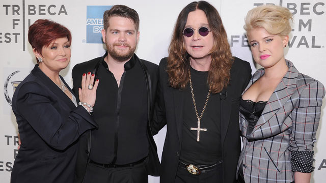 "PHOTO: Sharon Osbourne, Jack Osbourne, Ozzy Osbourne and Kelly Osbourne attend the premiere of ""God Bless Ozzy Osbourne"" during the 10th annual Tribeca Film Festival at BMCC Tribeca PAC on April 24, 2011 in New York City."