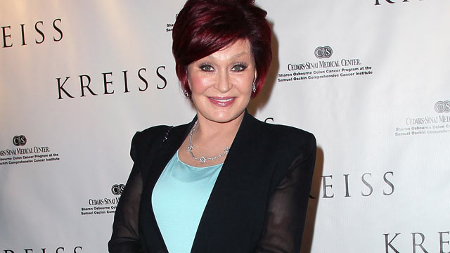 PHOTO: TV personality Sharon Osbourne attends the Kreiss 75th anniversary celebration at Kreiss on April 19, 2012 in Los Angeles, California.