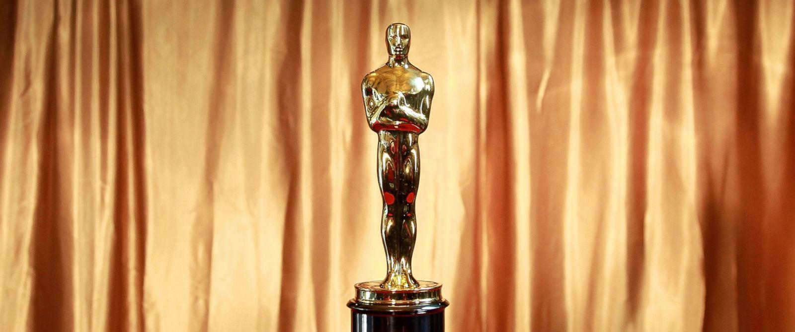 """PHOTO: The Oscar trophy at the 83rd Annual Academy Awards """"Meet The Oscars"""" New York."""