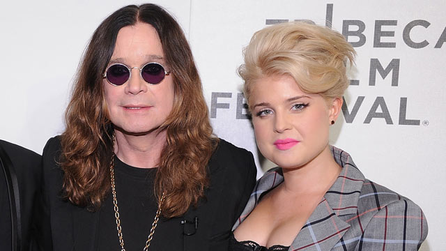 "PHOTO: Ozzy Osbourne and Kelly Osbourne attend the premiere of ""God Bless Ozzy Osbourne"" during the 10th annual Tribeca Film Festival at BMCC Tribeca, April 24, 2011 in New York City."