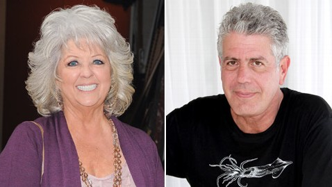 gty paula dean anthony bourdain thg 120405 wblog Anthony Bourdain Says Paula Deen Is Good at Playing the Victim
