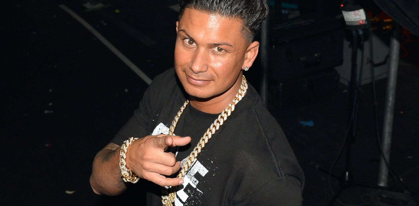 PHOTO: Pauly D attends the iHeartRadio Music Festival at the MGM Grand Garden Arena on September 21, 2013 in Las Vegas, Nev.