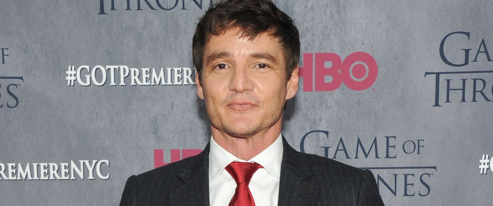 """PHOTO: Actor Pedro Pascal attends the """"Game Of Thrones"""" Season 4 New York premiere on March 18, 2014 in New York City."""