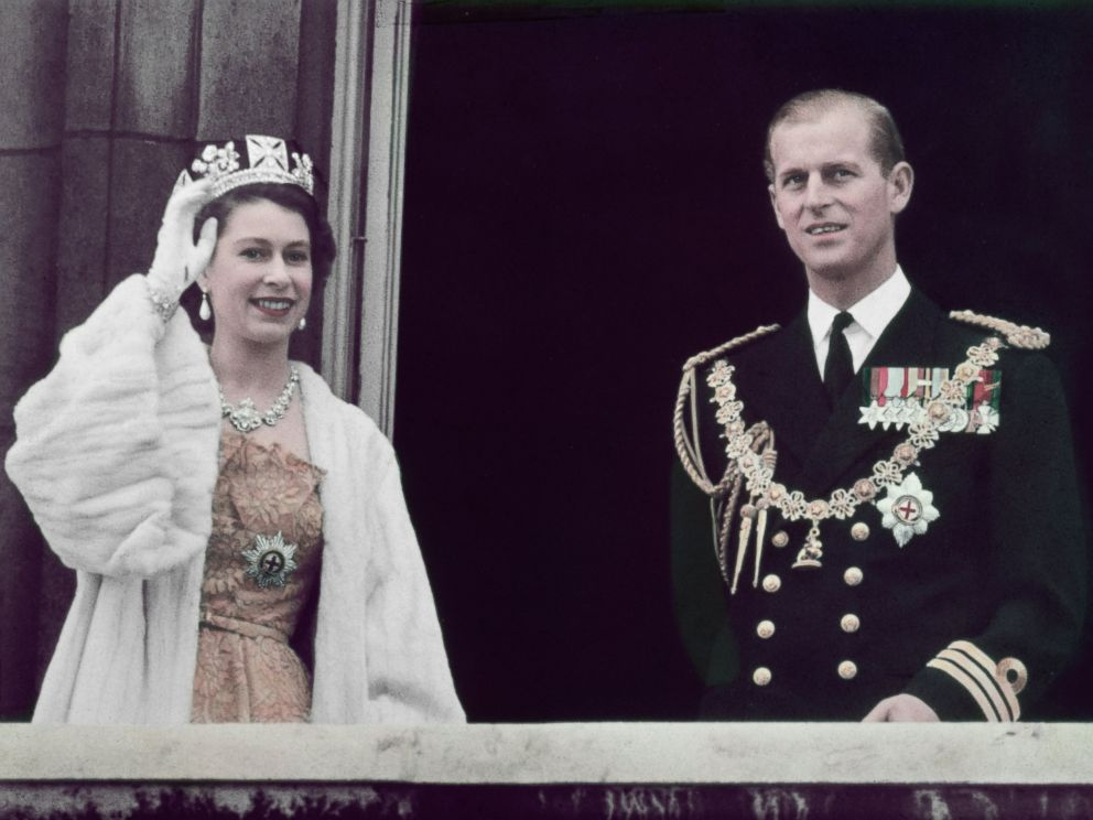 Queen Elizabeth...