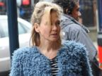 Renee Zellweger Sports a Baby Bump for Bridget Jones