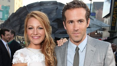 "PHOTO: Blake Lively and Ryan Reynolds at Warner Bros. Premiere of ""Green Lantern"" at Grauman's Chinese Theatre on June 15, 2011 in Hollywood, Cali."
