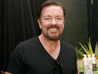gty ricky gervais host thg 111116 main Ricky Gervais Blasts Sickening Kitten Experiments