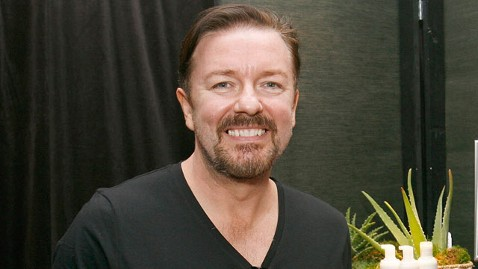 gty ricky gervais host thg 111116 wblog Ricky Gervais Going Back to Golden Globes