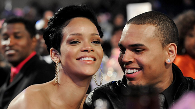 PHOTO: Rihanna and Chris Brown