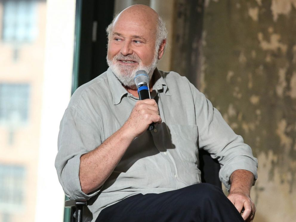 PHOTO: Director Rob Reiner speaks about his career and new movie at AOLs headquarters on July 9, 2014 in New York City.