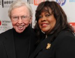 PHOTO: Film critc Roger Ebert and wife Chaz Ebert attend the 14th Annual Webby Awards at Cipriani, Wall Street on June 14, 2010 in New York City.