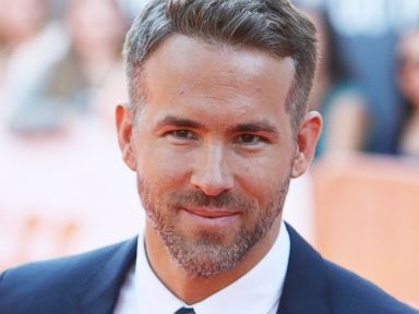 Ryan Reynolds Flaunts Silver Hair