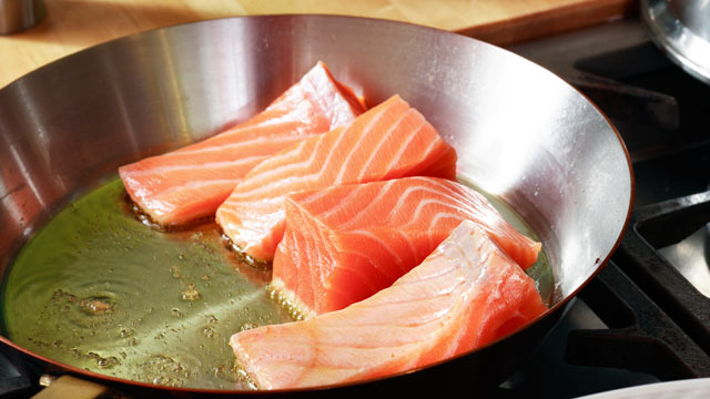 PHOTO: Sara Moulton discusses the easiest way to cook fresh salmon fillets.