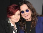 """PHOTO: TV personality Sharon Osbourne and Musician Ozzy Osbourne arrive at Los Angeles Premiere of """"Total Recall"""" at Graumans Chinese Theater on Aug. 1, 2012 in Hollywood."""