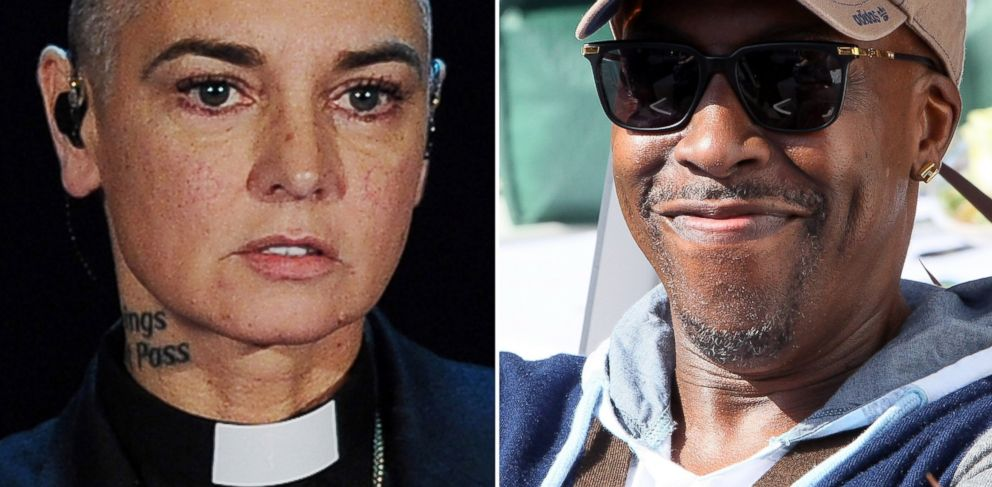 PHOTO: Sinead OConnor performs in Italy on Oct. 5, 2014 and Arsenio Hall attends an event in Burbank, Calif. on May 2, 2016.