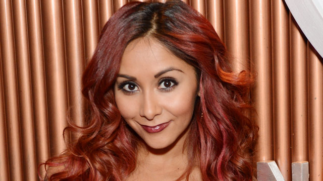 "PHOTO: Nicole ""Snooki"" Polizzi attends at the after party for the 2013 Smart Tan Downtown Convention, Nov. 9, 2013, in Nashville, Tenn."