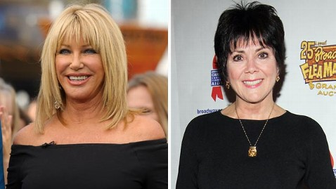 gty somers dewitt jef 120203 wblog Suzanne Somers, Joyce Dewitt Lay Threes Company Feud to Rest