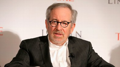 PHOTO: Director Steven Spielberg speaks at TIME's screening of Lincoln and Q & A on October 25, 2012 in New York City.