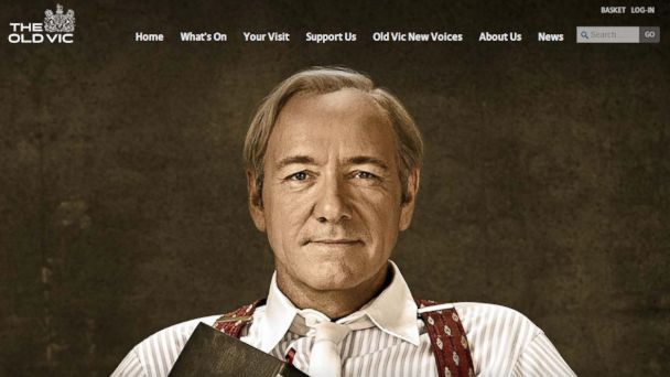 PHOTO: Kevin Spacey is currently performing as Clarence Darrow in the production of the same name at the Old Vic Theatre in London, England as seen in this screen grab from www.oldvictheatre.com/whats-on/2014/clarence-darrow made on June 6, 2014.