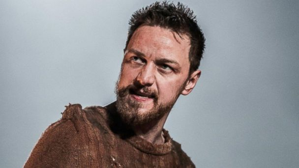 PHOTO: James McAvoy appears in MacBeth at Trafalgar Studios in London, England in 2013 as seen in this photo from www.macbethwestend.com.