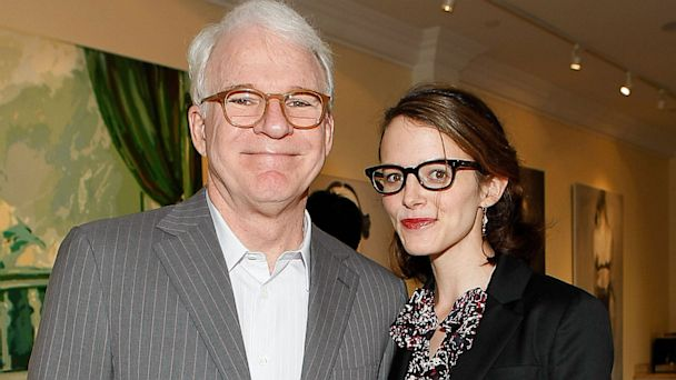 PHOTO: Steve Martin and Anne Stringfield