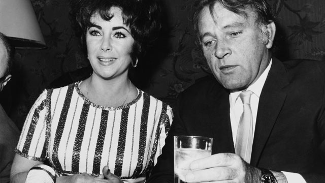 PHOTO: Richard Burton And Liz Taylor On August 6, 1984.