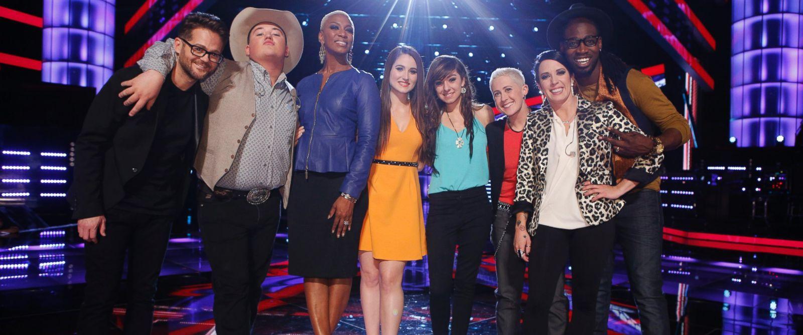 PHOTO: Contestants of The Voice